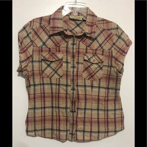Sherry Taylor Button Front Top